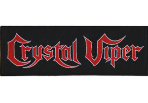 Crystal-Viper-Logo-Patch-Official-Heavy-Metal-Band-Merch-New