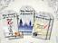 6 Harry Potter Hogwarts Christmas Gift Tags /& Ribbon