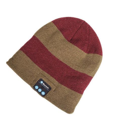 Warm Beanie unisex Hat Wireless Bluetooth Music Cap Headphone  Speaker Mic