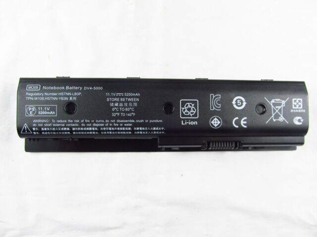 5200mAh Replacement for HP Envy Pavilion dv4 dv6 dv7 10.8v 11.1v Laptop Battery