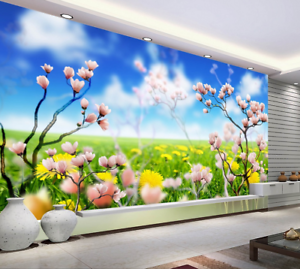 3D Squid Lawn 5028 Wallpaper Murals Wall Print Wallpaper Mural AJ WALL UK Kyra
