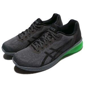 Asics Gel Kenun mens trainers GreyBlackGreen UK 9 EU 44 US 10 | eBay