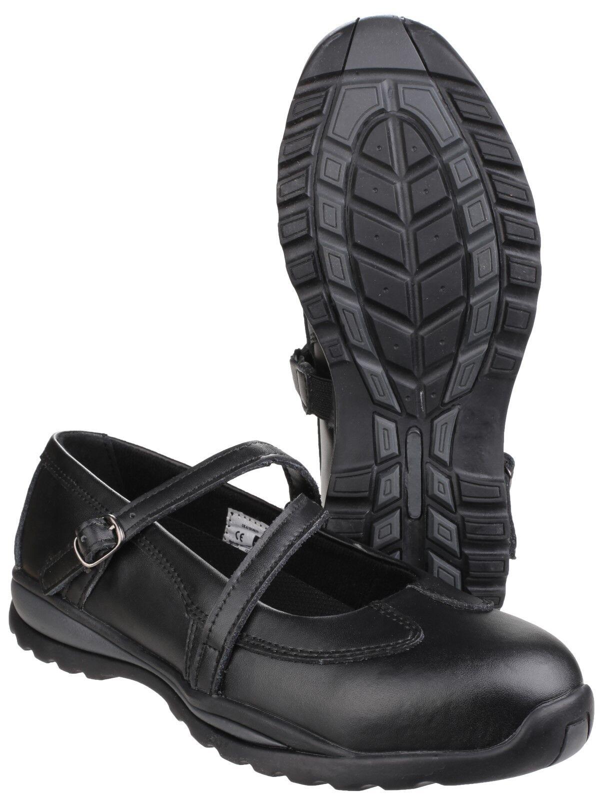 Amblers FS55 Safety donna  Steel Toe Cap scarpe Leather Buckle Strap UK3 -9  grandi risparmi