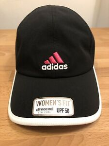 finest selection 315cb 9ec12 Details about ADIDAS CLIMACOOL UPF50 BLACK/WHITE/PINK WOMEN'S BASEBALL CAP!  New! Only £14,90!