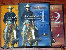 Clinton Anderson Riding With Confidence Series 1, 2 & 3 set - Free Shipping