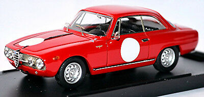 Cars Alfa Romeo 2000 Sprint Coupe 1960-62 Red 1:43 Bang Smoothing Circulation And Stopping Pains
