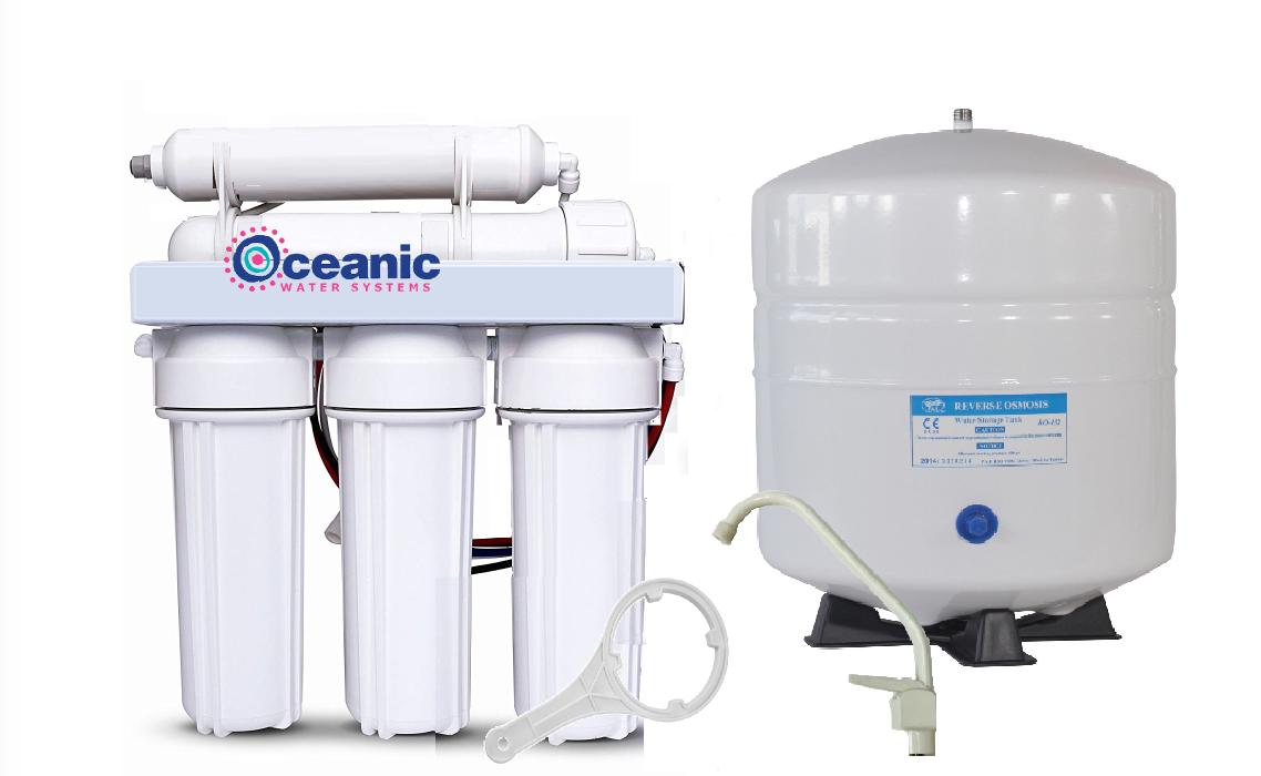 Oceanic Home Pure osmose inverse RO Filtre à Eau Système 5 étape 75 GPD   USA