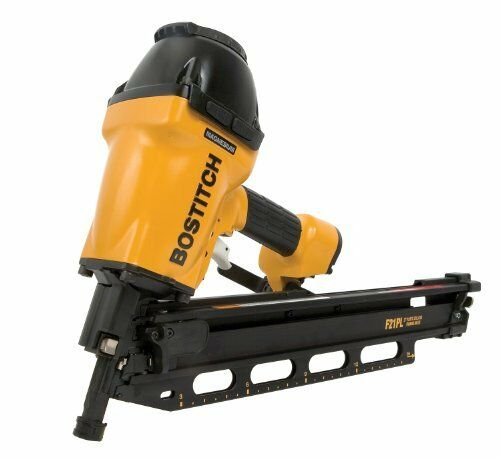 BOSTITCH F21PL Round Head 1-1 2-Inch to 3-1 2-Inch Framing Nailer
