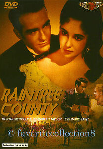 Raintree-County-1957-Elizabeth-Taylor-Montgomery-Clift-DVD-NEW