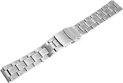 Zubehör GemäßIgt Uhrenersatzarmband Edelstahl Sicherheitsfaltschließe Stegbreite 18mm S574 Einen Einzigartigen Nationalen Stil Haben Uhrenarmbänder