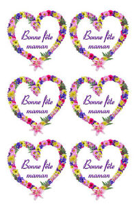 Board Stickers Good Fete Maman Adhesive Adhesive Sticker Mothers Day 2 Ebay