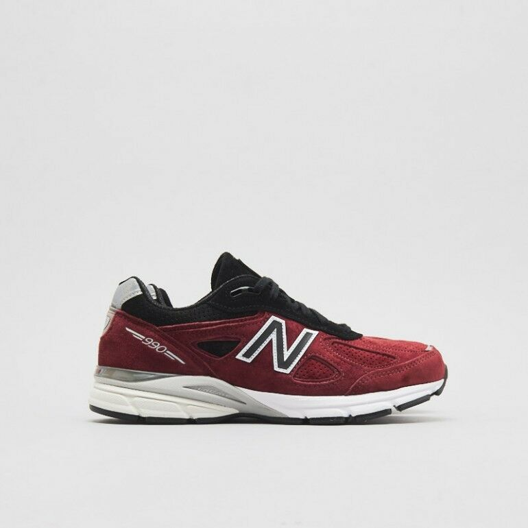brand new f60db e229e New Balance 990 Mens Size 9.5 US M990RB4 Red Black Made in USA New with Box