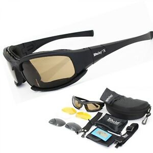 0efa8d3530b Image is loading Daisy-X7-Military-Goggles-Bullet-proof-Army-Polarized-