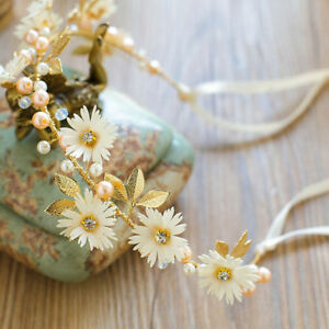 Women-Flower-Girl-wedding-Flower-Hair-Headband-crown-Prop-Garland-Wedding-Party