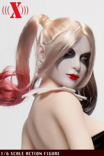 IN STOCK █ 1//6 Suicide Squad Harley Quinn Female Joker head sculpt for PHICEN