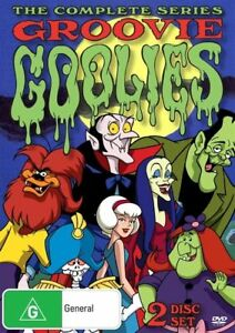 Groovie-Goolies-DVD-2016-2-Disc-Set-New-Sealed-Region-4