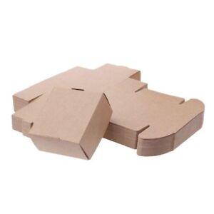 Brown Kraft Paper Box Pour Anniversaire Petit Cadeau De Mariage Faveurs Candy Bijoux Emballage-afficher Le Titre D'origine Un RemèDe Souverain Indispensable Pour La Maison