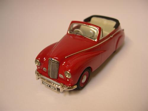 Somerville Built modellllerlerl samling Sunbeam Talbot 90 Drophead 1950
