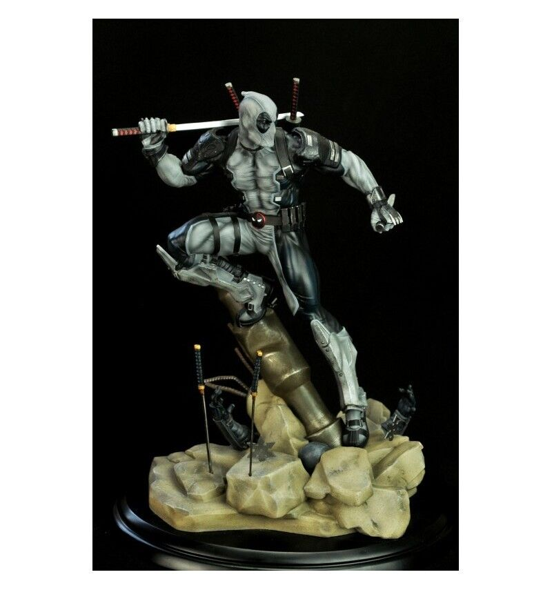Marvel Deadpool Uncany x-Force 1 6th Collectable Statue Semic Predotype-Z