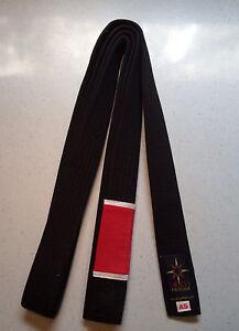 Martial Arts Belt Sirius Brand Jiu-Jitsu Black Belt BJJ