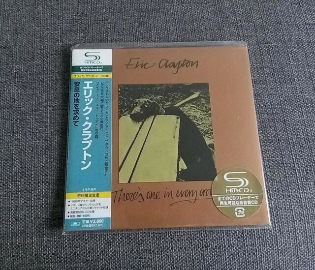 Eric Clapton There's One in Every Crowd JAPAN MINI LP SHM CD SEALED