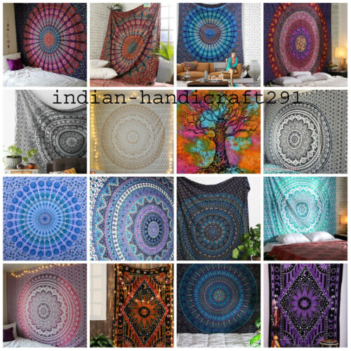 Wholesale 40 Pcs Tapestry Mandala Bedding Bed Cover Hippie Wall Hanging Throw
