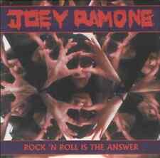 "Joey Ramone-rock n roll is the answer.7"" ramones"