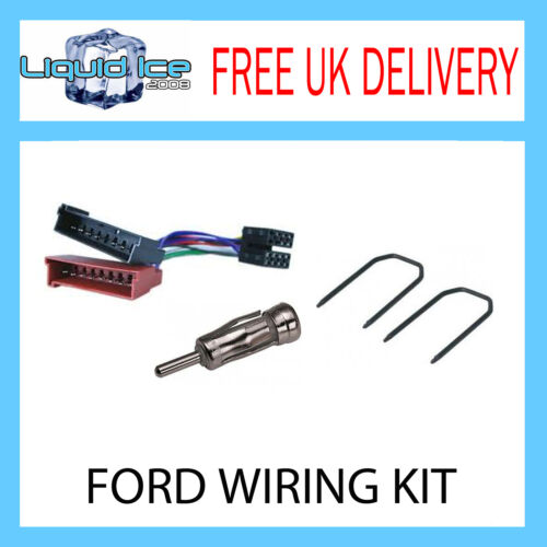 FORD FIESTA 1991 2002 ALL MODELS STEREO HARNESS ADAPTER KIT LEAD PC2-08-4