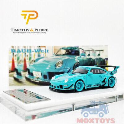 Pre-order Timothy /& Pierre TP 1:64 Prosche 993 RWB Rauh Passion Resin Miami Blue