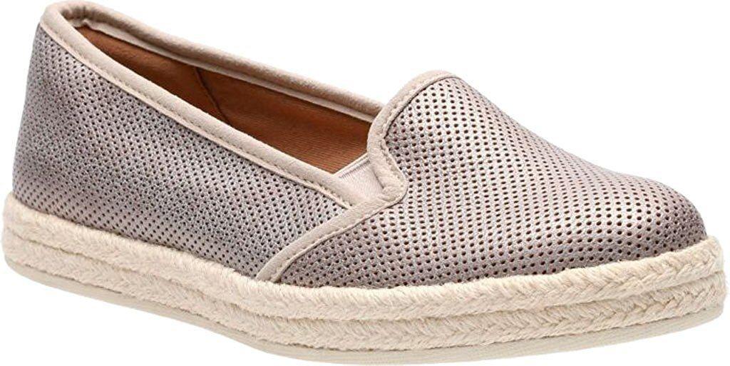 Para Mujer Clarks Colección azella Theoni Alpargatas Zapato Zapato Zapato oro Metálico 26125831  hasta 42% de descuento