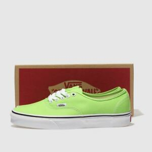 Image is loading Vans-Authentic-Trainers-In-Green-Women-039-s- f3c8158ef4fd