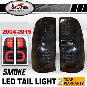Fit-For-Toyota-2004-2015-Hilux-Vigo-KUN16-GGN15-Pickup-Ute-Smoked-LED-Tail-Light