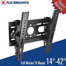 "Tilt LCD LED Plasma Flat TV Wall Mount Bracket 15 17 19 22 26 27 30 32 37 40 42"""