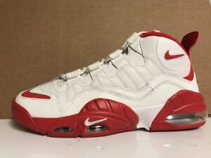 Details about Nike Air Max Sensation Summit WhiteUniversity Red {805897 101} Men's Size: 9