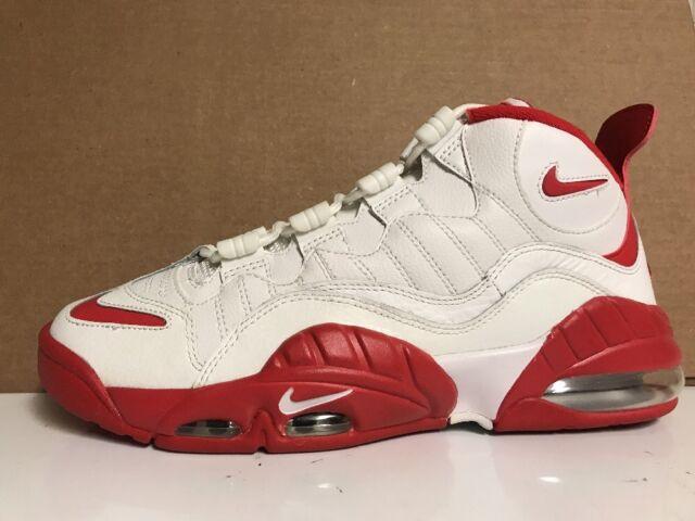 buy online 0bf63 8c809 Nike Air Max Sensation Summit WhiteUniversity Red 805897-101 Mens Size