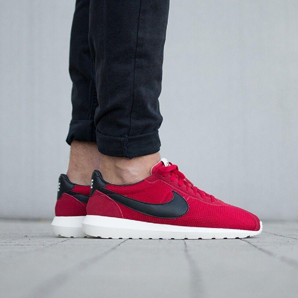 Nike roshe LD-1000 que ejecuta Zapatillas Gimnasio estilo Retro informal-UK 8.5 (EUR 43) Gimnasio Rojo