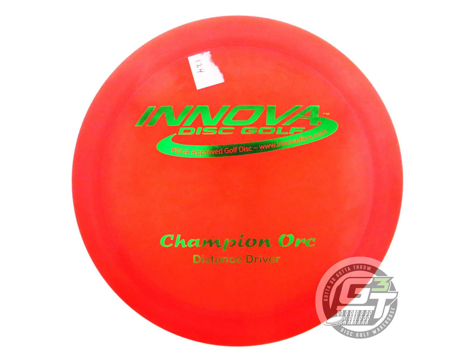 NEW Innova Champion Orc 172g rosso verde Foil PFN Driver FELDBERG COLLECTION
