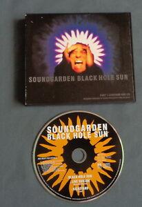 SOUNDGARDEN Black hole sun Part 1 COMPACT PLUS CASE CD MAXI SINGLE 3 tr 1994 A&M