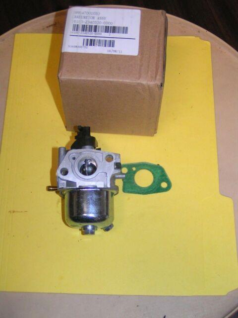NEW OEM HOMELITE 208CC ENGINE CARBURETOR ASSEMBLY 099947001030