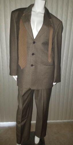 Giorgio Armani Collezioni Men's 3 Pc Suit 40 R Jac