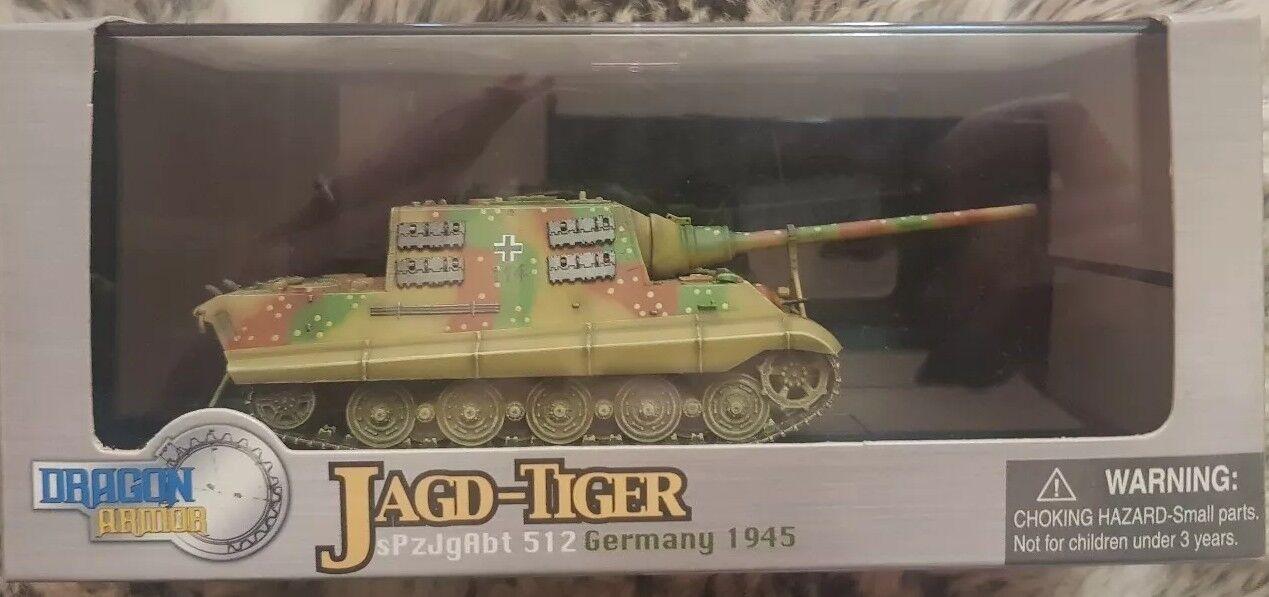 Dragon Armor Model Jagd-Tiger sPzJgAbt 512 Germany 1945 Henschel Item no.60013