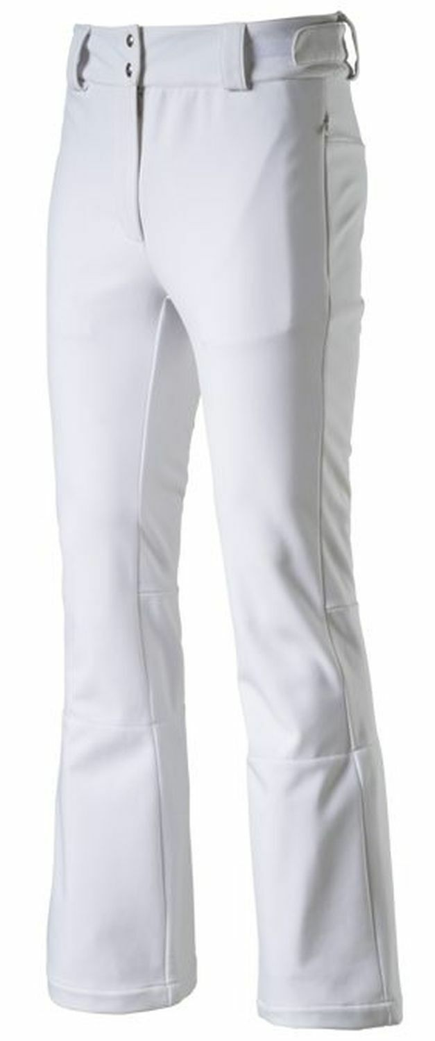 McKinley Ladies' Softshell Salopettes Ski Trousers Stacey II White   free delivery and returns