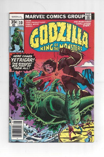 Godzilla #10 Marvel 1978 VF/NM Range 1st Yetrigar!