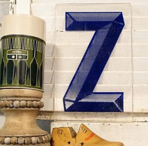 Vintage-Acrylic-Marquee-Letter-Z-Sign-Plastic-Display-Retro-Industrial-Decor
