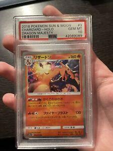 CHARIZARD 003/053 PSA 10 GEM MT HOLO DRAGON STORM JAPANESE
