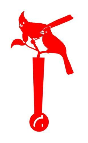 SC Metal Art Mail Box Flag Home Decor Garden Sign Cardinals
