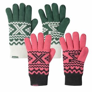 adidas-ORIGINALS-UNISEX-GLOVES-ZX-WINTER-WARM-PINK-GREEN-FLEECE-LINING