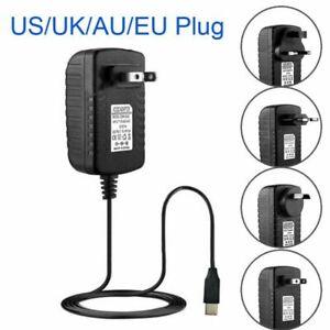 Raspberry Pi 4 Power Supply Adapter ON//OFF Switch USB-C 5V 3.0A US//EU//UK//AU Plug
