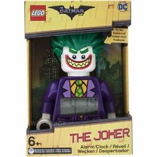 NEW! LEGO The Batman Movie The Joker Minifigure Poseable Alarm Clock - 9009341