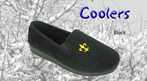Coolers Pour Hommes Pantoufles Noir Pantoufles